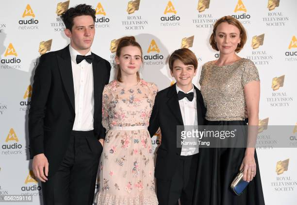 Josh O'Connor Daisy Waterstone Milo Parker and Keeley Hawes attend the Royal Television Society Programme Awards at the Grosvenor House on March 21...