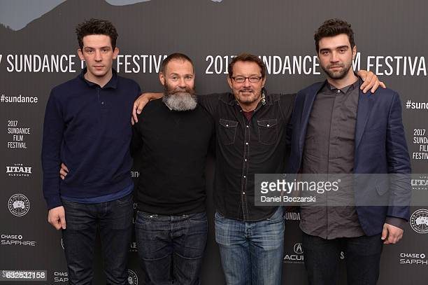 Josh O'Connor Director Francis Lee and Sundance Film Festival Senior Programmer David Courier and Alec Secareanu attend the 'God's Own Country'...