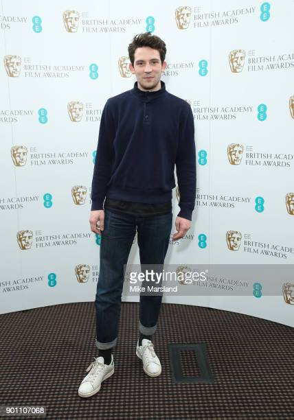 Josh O'Connor during the EE Rising Star Nominations announcement held at BAFTA on January 4 2018 in London England