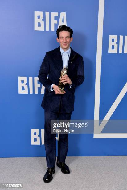 Josh O'Connor wins the Best Actor Award at the British Independent Film Awards 2019 at Old Billingsgate on December 01 2019 in London England