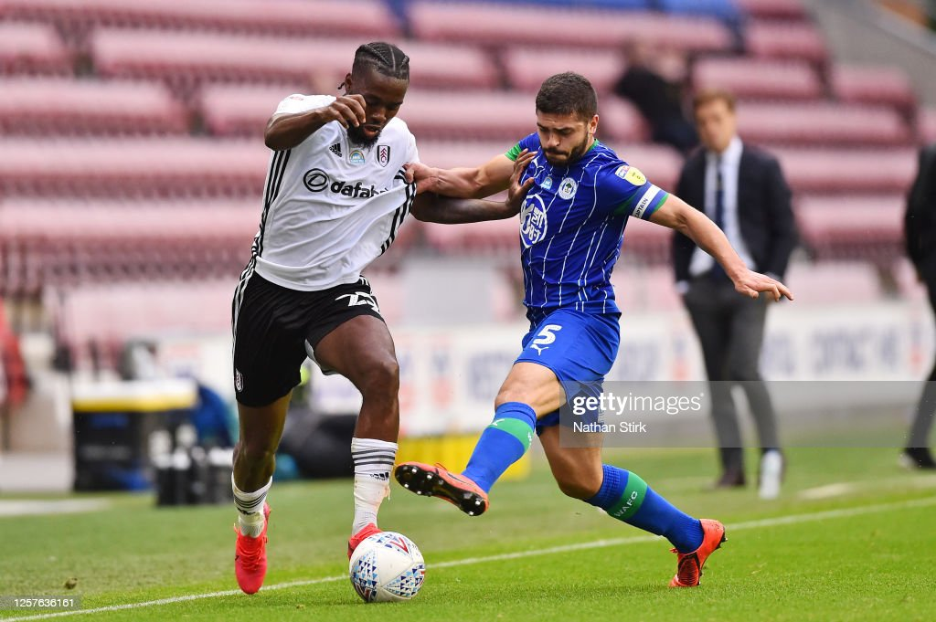 Wigan Athletic v Fulham - Sky Bet Championship : News Photo