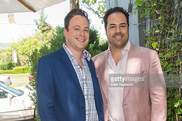 Josh Opperman and Chris Del Gatto attend the DELGATTO Luncheon to Celebrate Partnership with the Dubin Breast Center of the Tisch Cancer Institute at...