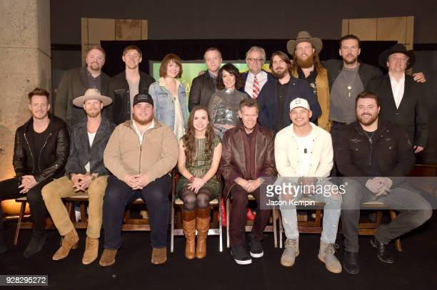 Josh Osborne Ashley Gorley Molly Tuttle Jason Isbell Amanda Shires CEO of the Country Music Hall of Fame Kyle Young Dave Cobb John Osborne and TJ...