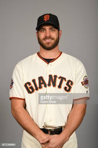 Josh Osich of the San Francisco Giants poses during Photo Day on Tuesday February 20 2018 at Scottsdale Stadium in Scottsdale Arizona