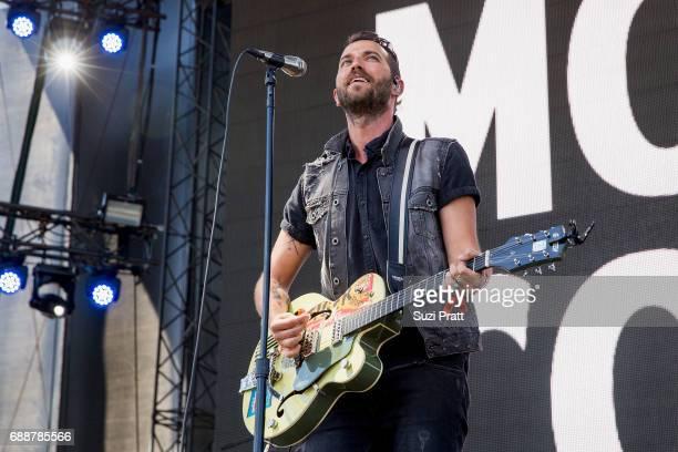 Josh Ostrander of Mondo Cozmo performs at Gorge Amphitheatre on May 26 2017 in George Washington
