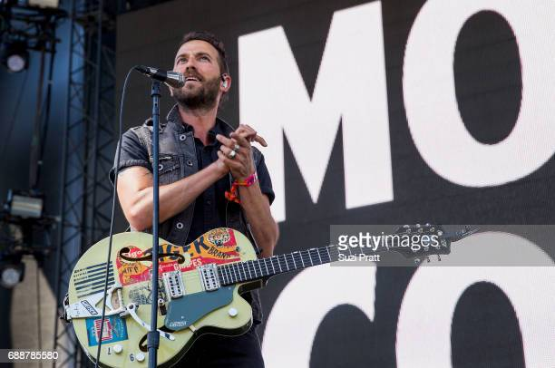 Josh Ostrander of Mondo Cozmo performs at Gorge Amphitheatre on May 26 2017 in George Washington