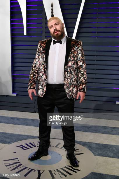 Josh Ostrovsky attends the 2019 Vanity Fair Oscar Party hosted by Radhika Jones at Wallis Annenberg Center for the Performing Arts on February 24...