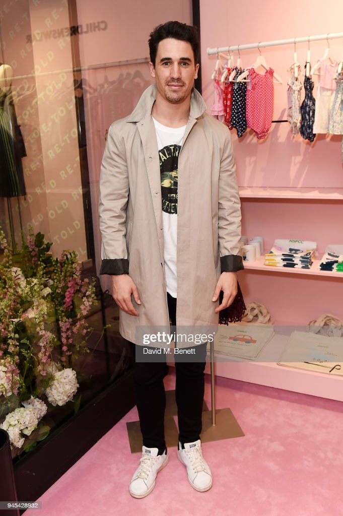 Josh Paterson attends the launch of the Fashion Re-Told pop-up in aid of the NSPCC at 196 Sloane Street on April 12, 2018 in London, England. Fashion Re-Told, in association with Harrods and Cadogan, is open until May 13th, selling designer fashion items to raise funds for the NSPCC's work across the capital.