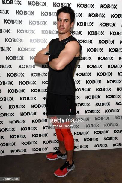 Josh Patterson attends as KOBOX Trainer Antoine Dunn and sister Jourdan Dunn kick of the KOBOX city studio with a boxing workout on February 21 2017...