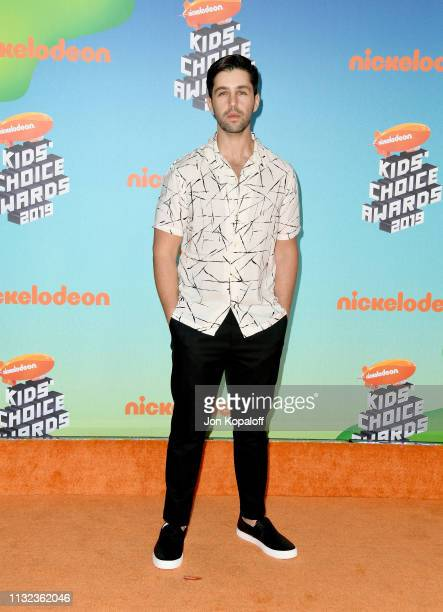 Josh Peck attends Nickelodeon's 2019 Kids' Choice Awards at Galen Center on March 23 2019 in Los Angeles California