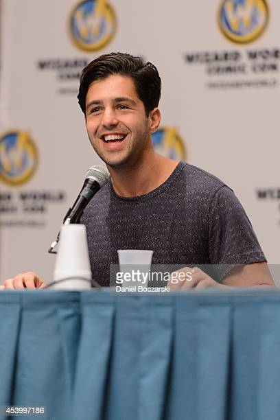 Josh Peck attends Wizard World Chicago Comic Con 2014 at Donald E Stephens Convention Center on August 22 2014 in Chicago Illinois
