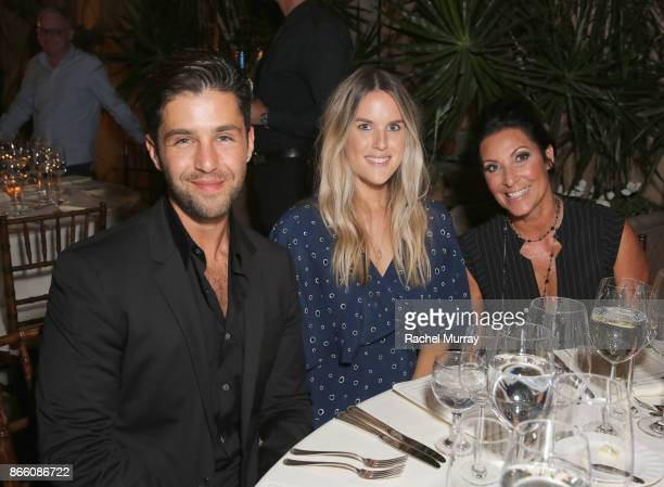 Josh Peck Paige O'Brien and Debbie Bickerstaff attend The Elizabeth Taylor AIDS Foundation and mothers2mothers dinner at Ron Burkle's Green Acres...