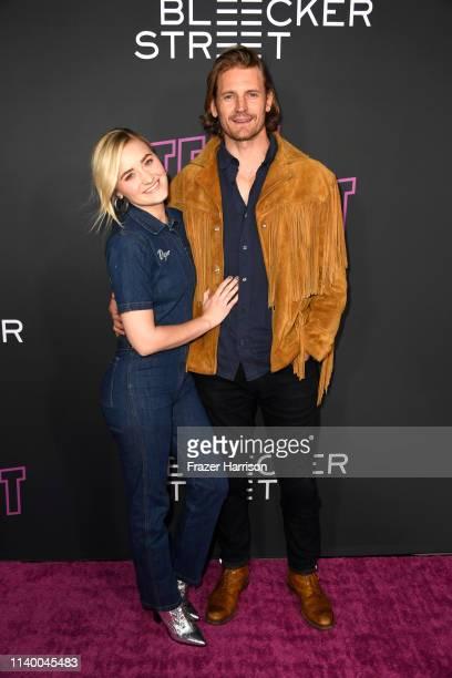 Josh Pence and AJ Michalka attends a Special Screening of Bleecker Street Media's Teen Spiritat ArcLight Hollywood on April 02 2019 in Hollywood...
