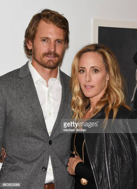 Josh Pence and Kim Raver attends Los Angeles LGBT Center's An Evening With Women at Hollywood Palladium on May 13 2017 in Los Angeles California