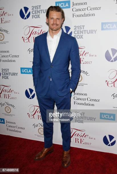 Josh Pence attends UCLA's Johnsson Center 22nd annual 'Taste For A Cure' event at the Beverly Wilshire Four Seasons Hotel on April 28 2017 in Beverly...