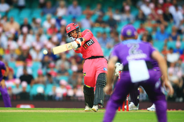 Josh Philippe of the Sixers hits a four during the Big Bash League match between the Sydney Sixers and the Hobart Hurricanes at the Sydney Cricket. Most potential perhaps in the Australia Cricket Squad.