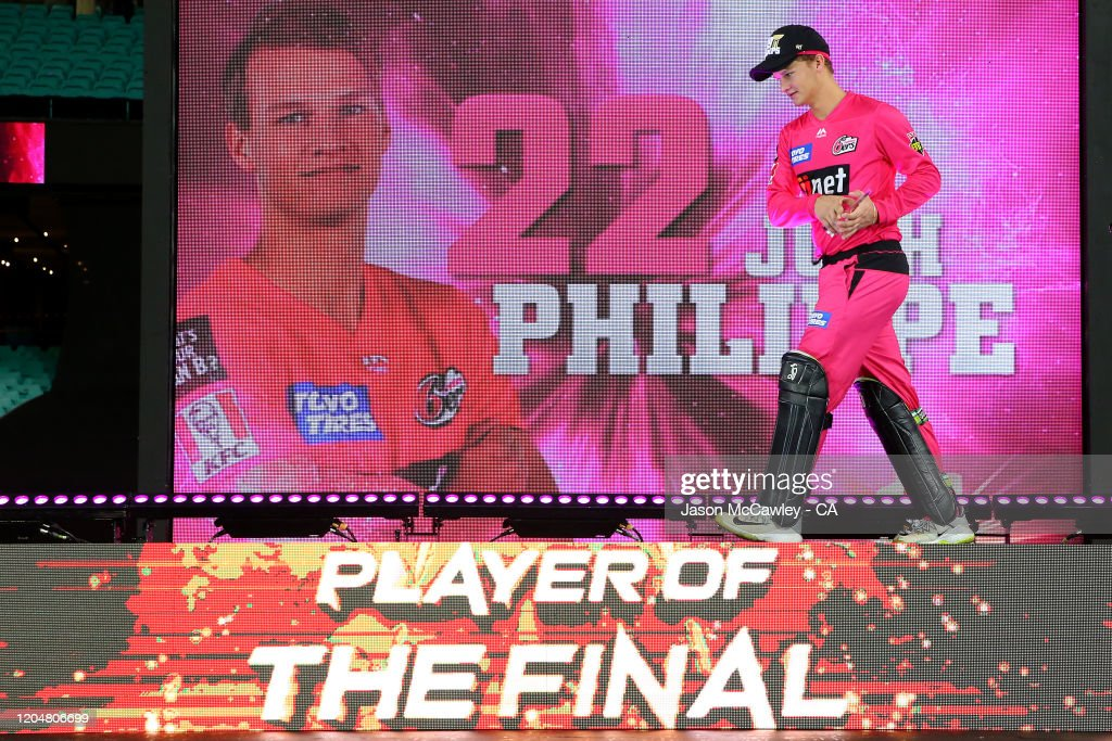 BBL Final - Sydney Sixers v Melbourne Stars : News Photo