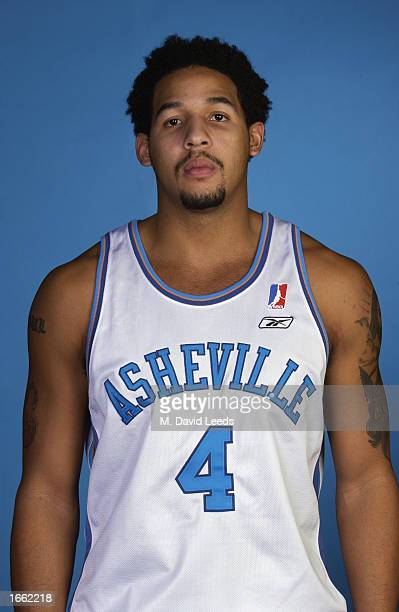 Josh Pittman of the Asheville Altitude poses for a portrait during a media day at Asheville Civic Center on November 12 2002 in Asheville North...