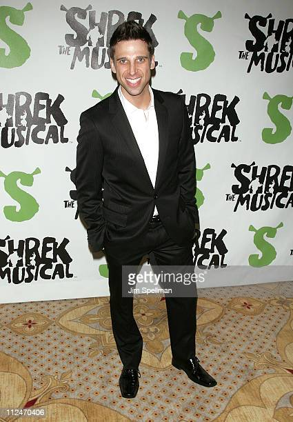 """Josh Prince attends the opening night party for """"Shrek The Musical"""" on Broadway at the Plaza hotel on December 14, 2008 in New York City."""
