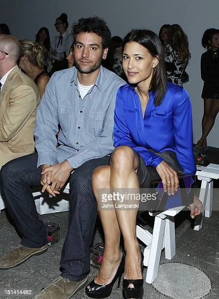 Josh Radner and Julia Jones attend the Honor show during Spring 2013 MercedesBenz Fashion Week at Eyebeam on September 6 2012 in New York City