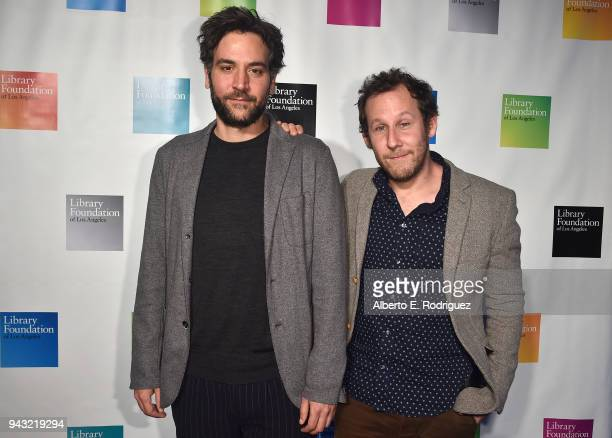 Josh Radnor and Ben Lee attend the 10th Annual Young Literati Toast at Hudson Loft on April 7 2018 in Los Angeles California
