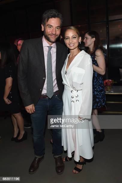 Josh Radnor and Nicole Richie attend the Entertainment Weekly and PEOPLE Upfronts party presented by Netflix and Terra Chips at Second Floor on May...