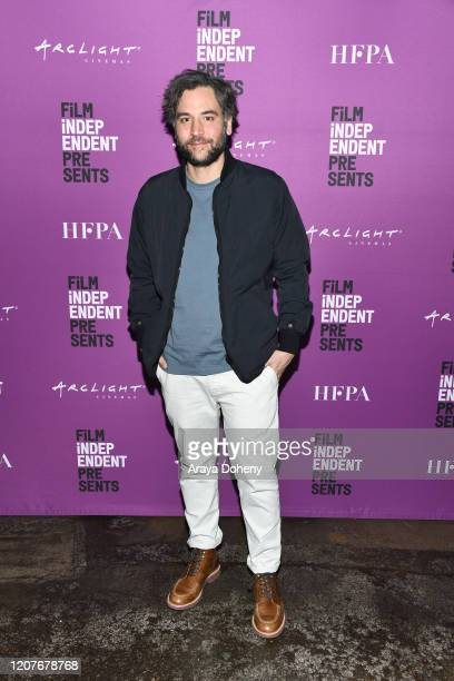"""Josh Radnor at Film Independent Screening Series Presents """"Hunters"""" at ArcLight Culver City on February 20, 2020 in Culver City, California."""