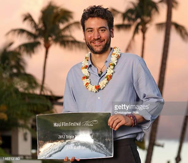 Josh Radnor at the 2012 Maui Film Festival on June 13 2012 in Wailea Hawaii