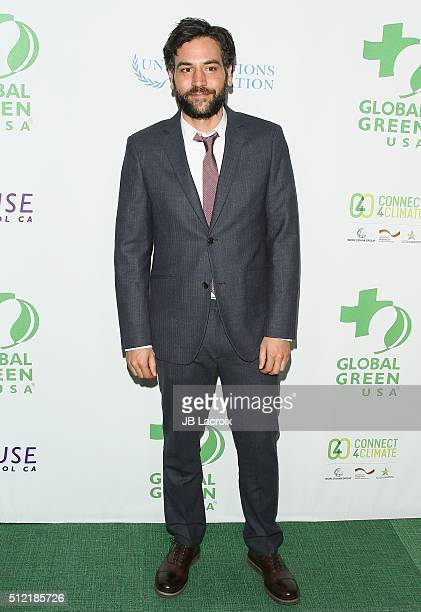 Josh Radnor attends Global Green USA's 13th annual preOscar party at Mr C Beverly Hills on February 24 2016 in Los Angeles California
