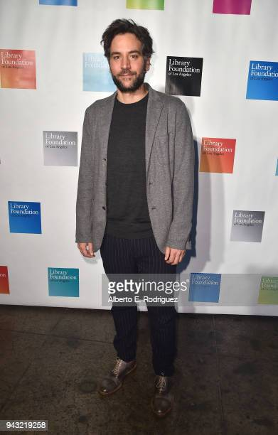 Josh Radnor attends the 10th Annual Young Literati Toast at Hudson Loft on April 7 2018 in Los Angeles California