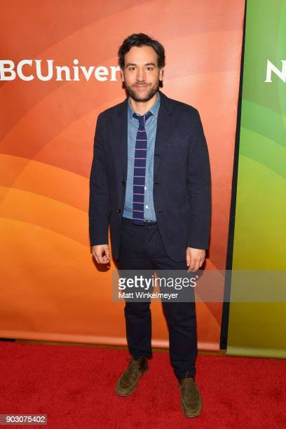 Josh Radnor attends the 2018 NBCUniversal Winter Press Tour at The Langham Huntington Pasadena on January 9 2018 in Pasadena California
