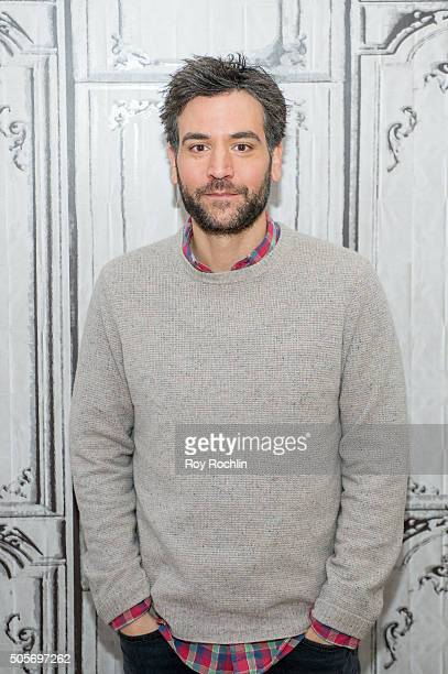 Josh Radnor attends the AOL Build session about Mercy Street at AOL Studios on January 19 2016 in New York City