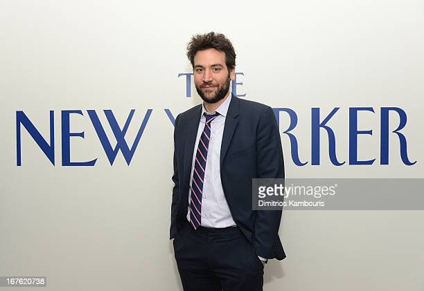 Josh Radnor attends The New Yorker's David Remnick Hosts White House Correspondents' Dinner Weekend PreParty at W Hotel Rooftop on April 26 2013 in...