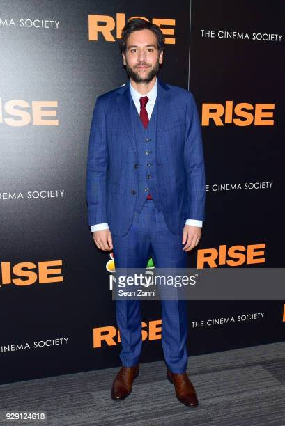 Josh Radnor attends the premiere of Rise hosted by NBC The Cinema Society at The Landmark at 57 West on March 7 2018 in New York City