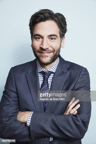 Josh Radnor of Rise poses for a photo during NBCUniversal Upfront Events Season 2017 Portraits Session at Ritz Carlton Hotel on May 15 2017 in New...