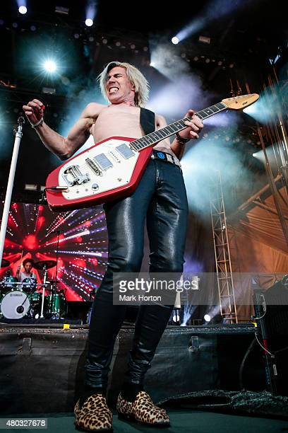 Josh Ramsay of Marianas Trench performs on Day 3 of the RBC Royal Bank Bluesfest on July 10 2015 in Ottawa Canada