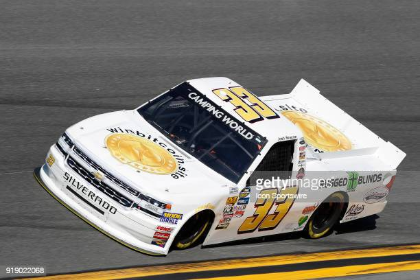 Josh Reaume Reaume Brothers Racing RCoin Chevrolet Silverado during practice for the NextEra Energy Resources 250 NASCAR Camping World Truck Series...