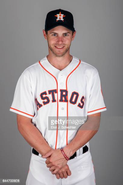 Josh Reddick of the Houston Astros poses during Photo Day on Sunday February 19 2017 at the Ballpark of the Palm Beaches in West Palm Beach Florida