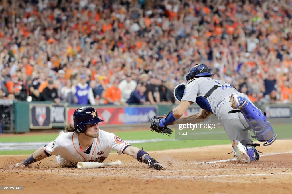 World Series - Los Angeles Dodgers v Houston Astros - Game Three