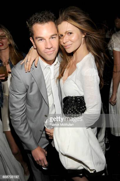 Josh Reed and Elizabeth Sulcer attend Calvin Klein Collection and Visionaire Present Visionaire 56 SOLAR at The Standard on June 1 2009 in New York