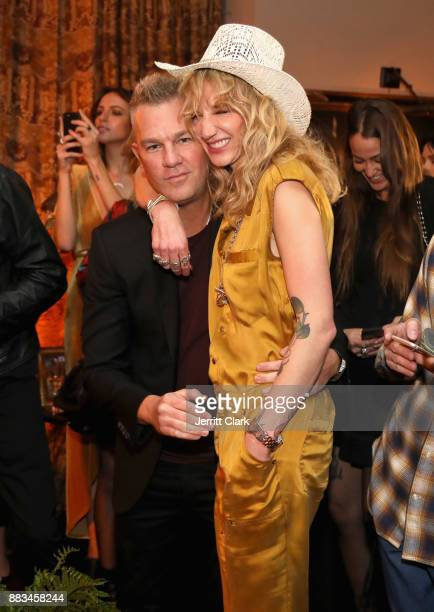 Josh Reed and Founder LAND of distraction Danita Short at the LAND of distraction Launch Party at Chateau Marmont on November 30 2017 in Los Angeles...