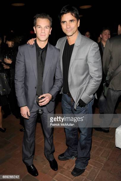 Josh Reed and John Stamos attend CALVIN KLEIN COLLECTION Women's Spring 2010 AfterParty at The Standard on September 17 2009 in New York