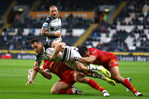 GBR: Hull FC v Catalans Dragons - Betfred Super League