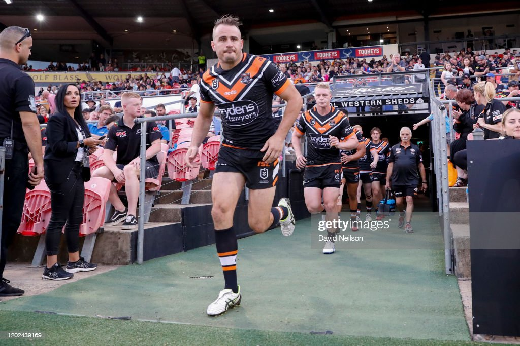 NRL Trial - Panthers v Wests Tigers : News Photo