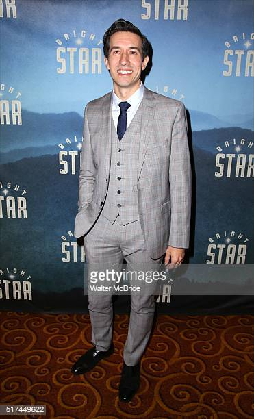 Josh Rhodes attends the 'Bright Star' Opening Night after party at Gotham Hall on March 24, 2016 in New York City.