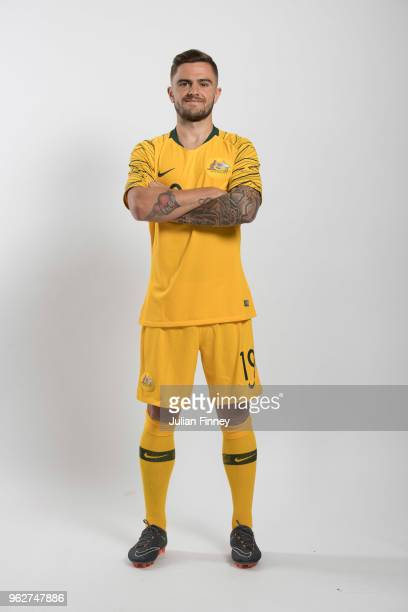 Josh Risdon poses for a picture during the Australia team portrait session on March 20 2018 in Oslo Norway