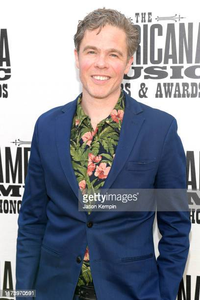 Josh Ritter attends the 2019 Americana Honors Awards at Ryman Auditorium on September 11 2019 in Nashville Tennessee