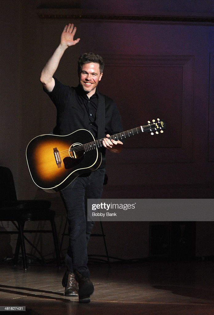 Josh Ritter attends The Music of Paul Simon at Carnegie Hall on March 31, 2014 in New York City.