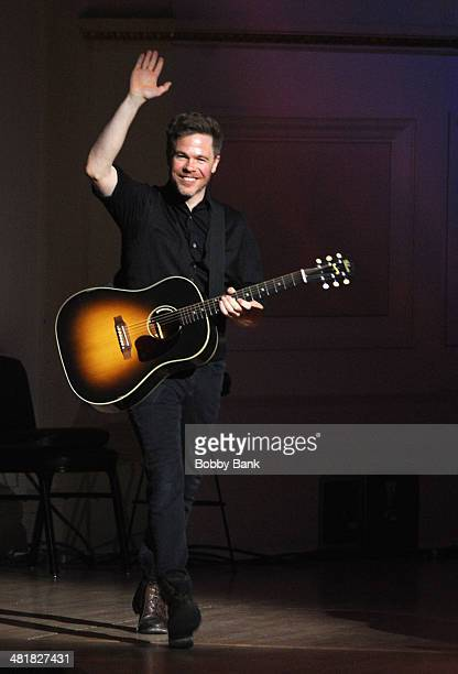 Josh Ritter attends The Music of Paul Simon at Carnegie Hall on March 31 2014 in New York City