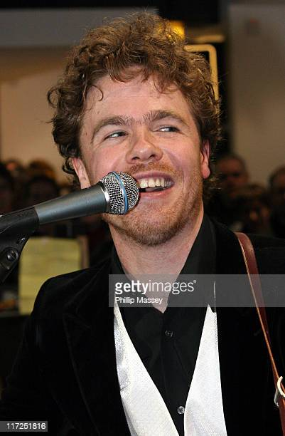 Josh Ritter during Josh Ritter InStore Performance and Album Signing for The Animal Years at HMV in Dublin March 3 2006 at HMV in Dublin Ireland